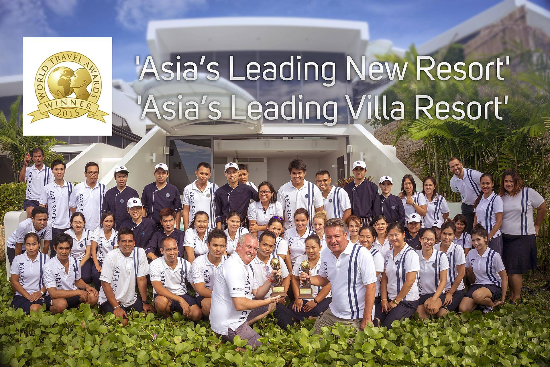 Kata Rocks Wins 'Asia's Leading New Resort' Award at WTA in Hong Kong - Asia's Leading New Resort Award
