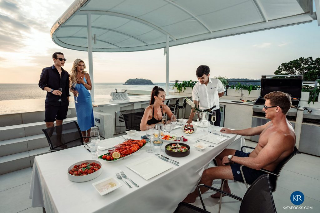 In-villa dining barbeque experience