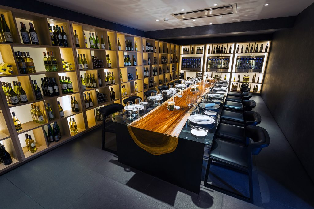 Kata Rocks Wine Cellar - wine dinner