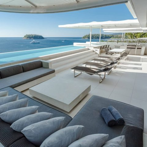 Four-bedroom Sky Pool Villa Penthouse