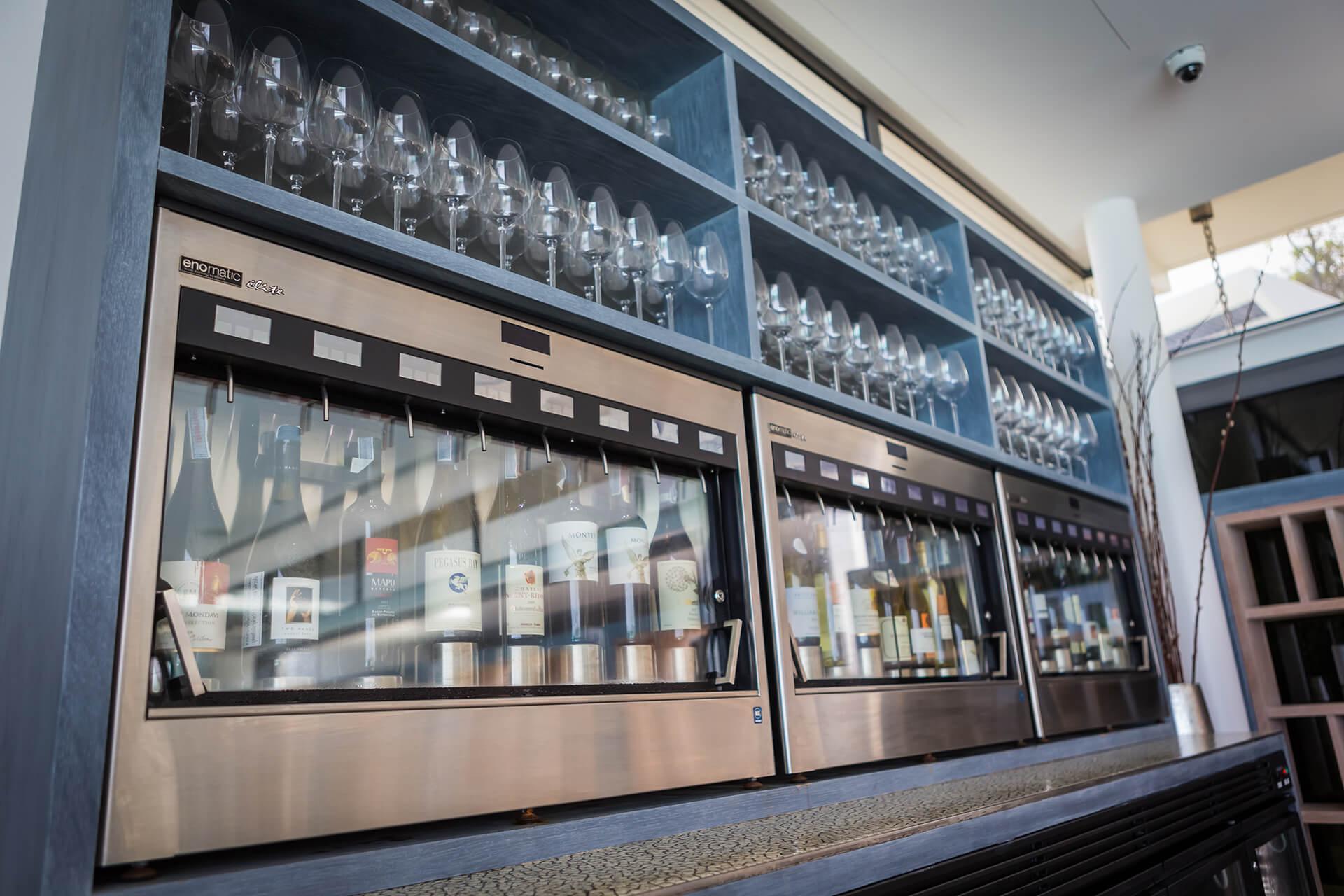 Wine Cellar - Enomatic Wine Machine