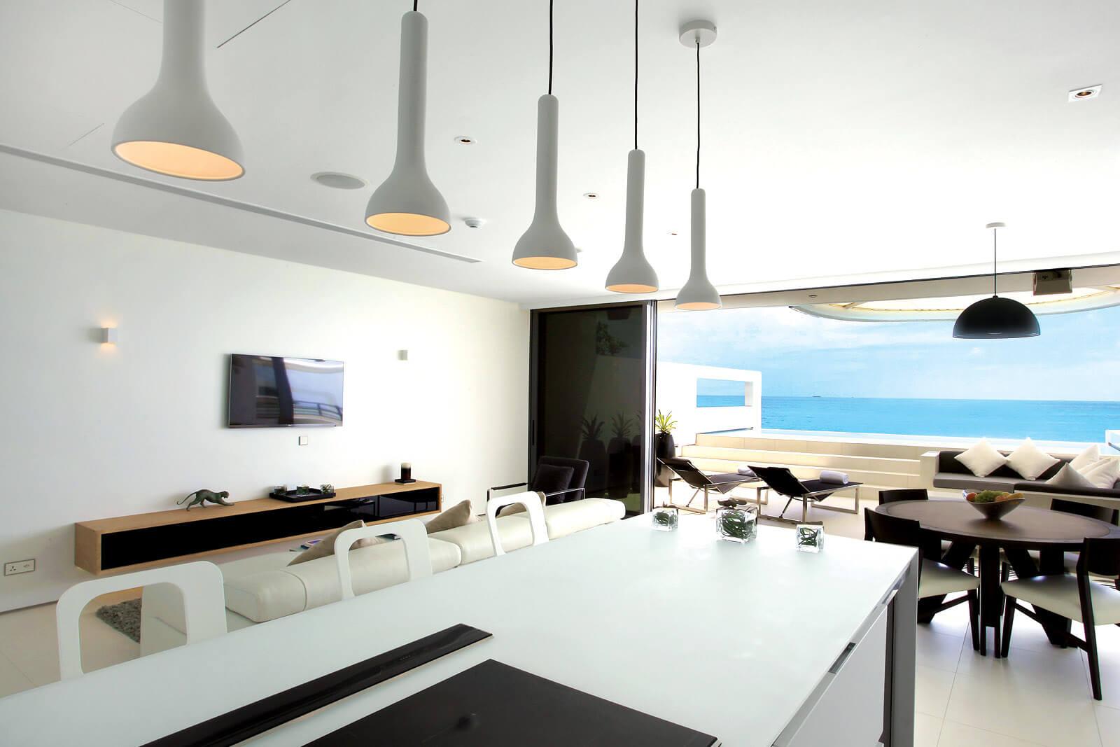 One-bedroom Sky Pool Villa - living area