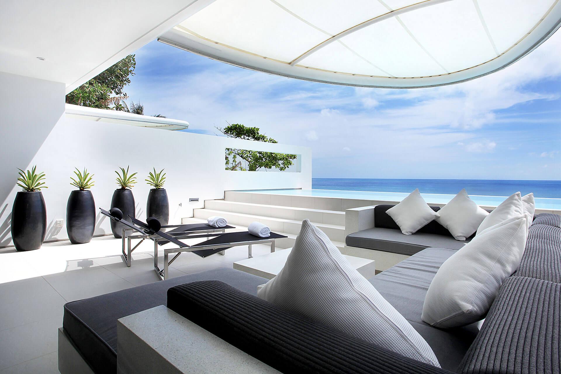Ocean view Sky Villas, One-bedroom Sky Pool Villas