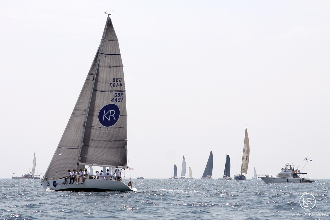 The world famous annual Kings Cup Regatta on Phuket