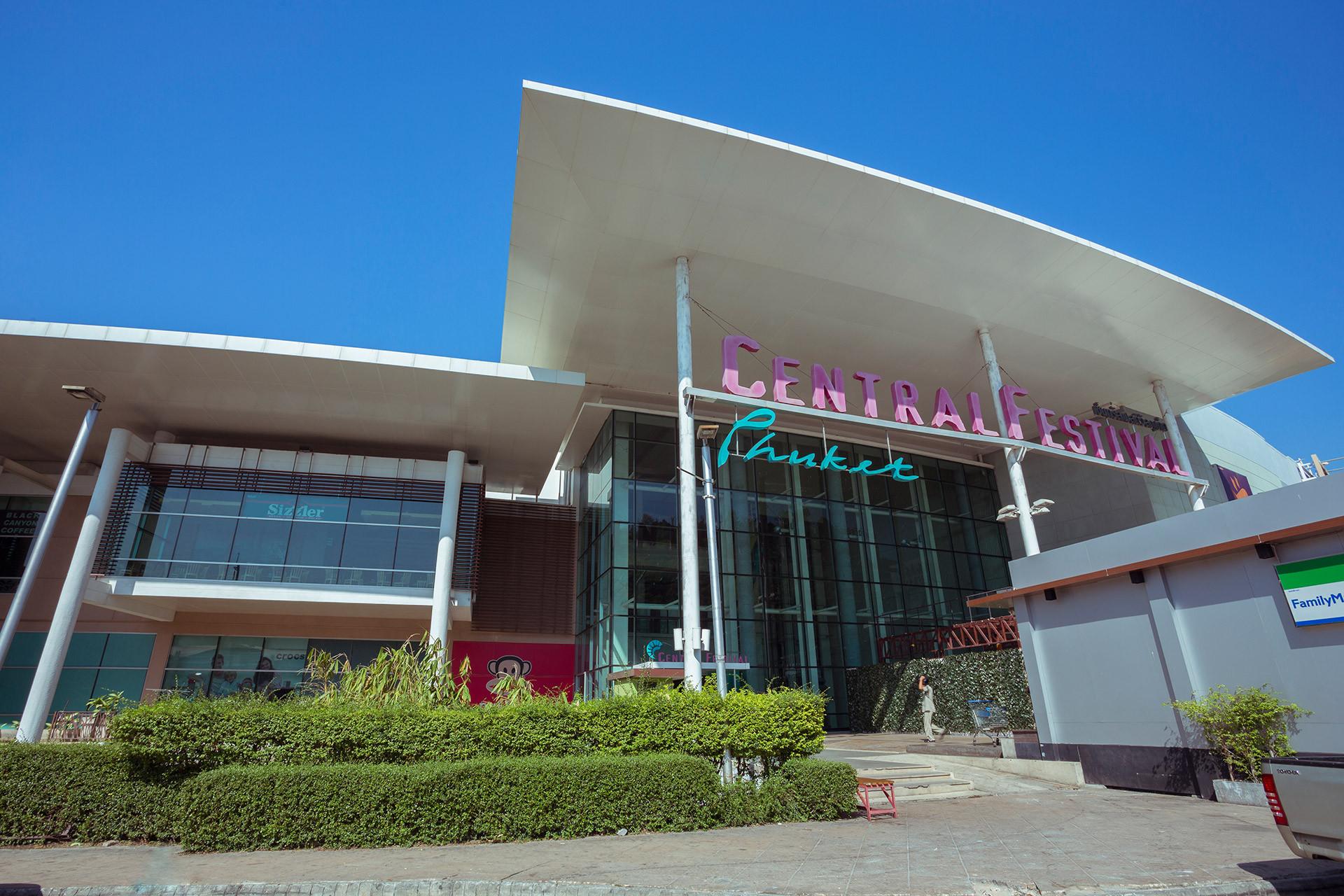 Central Festival Shopping Mall Phuket, Thailand