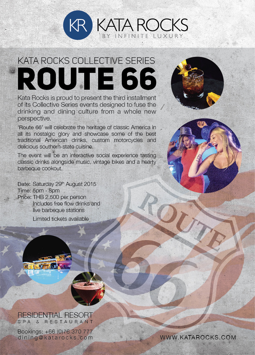 Kata Rocks Collective Series 'Route 66'