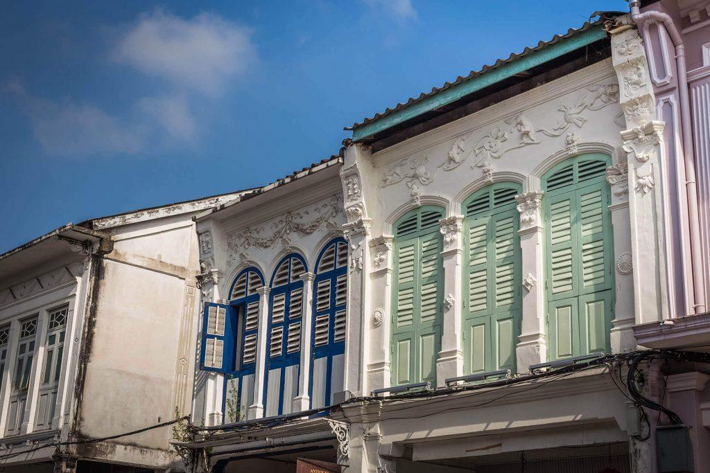 Phuket Old Town - Phuket Town Sino-Portuguese Architecture