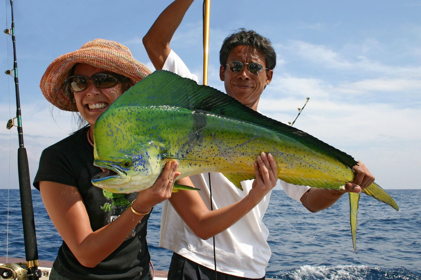 Wahoo Big Game fishing, Phuket, Thailand