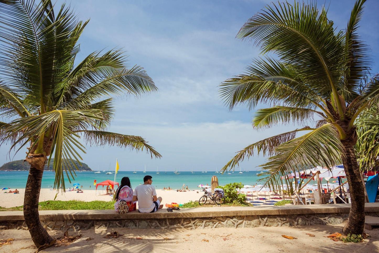 Naiharn beach, Phuket, Thailand