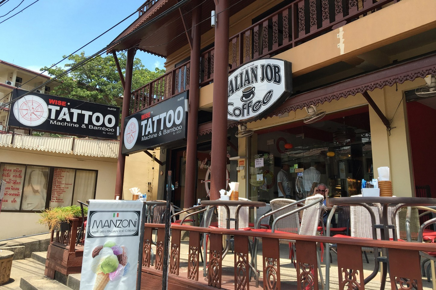 Italian Job Coffee Shop Kata Beach, Kata, Phuket