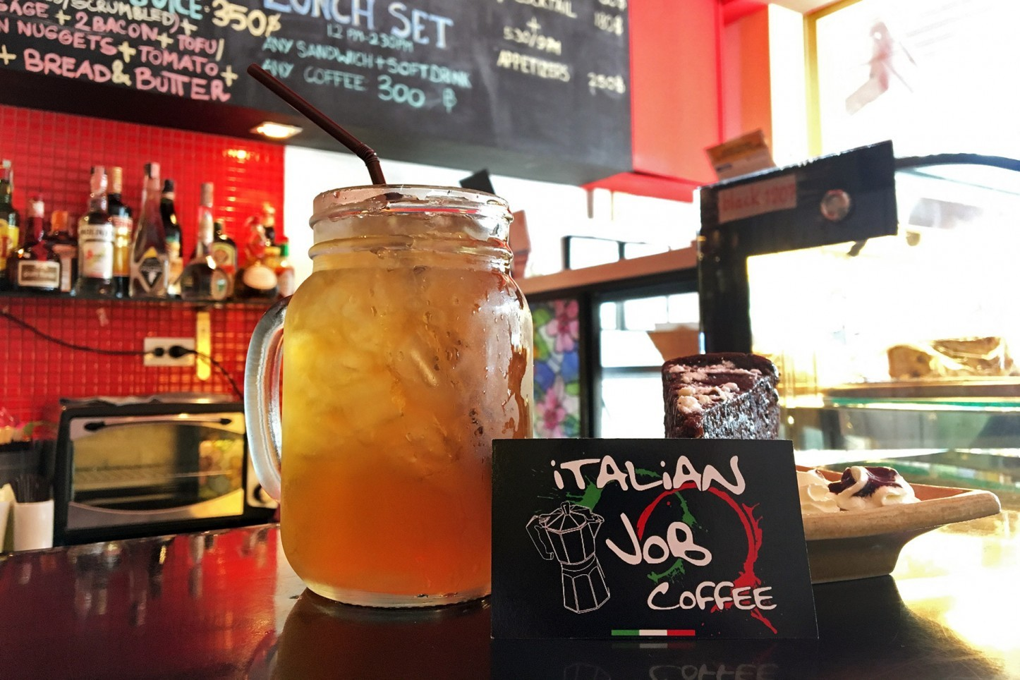 The Italian job coffee shop, Kata, Phuket