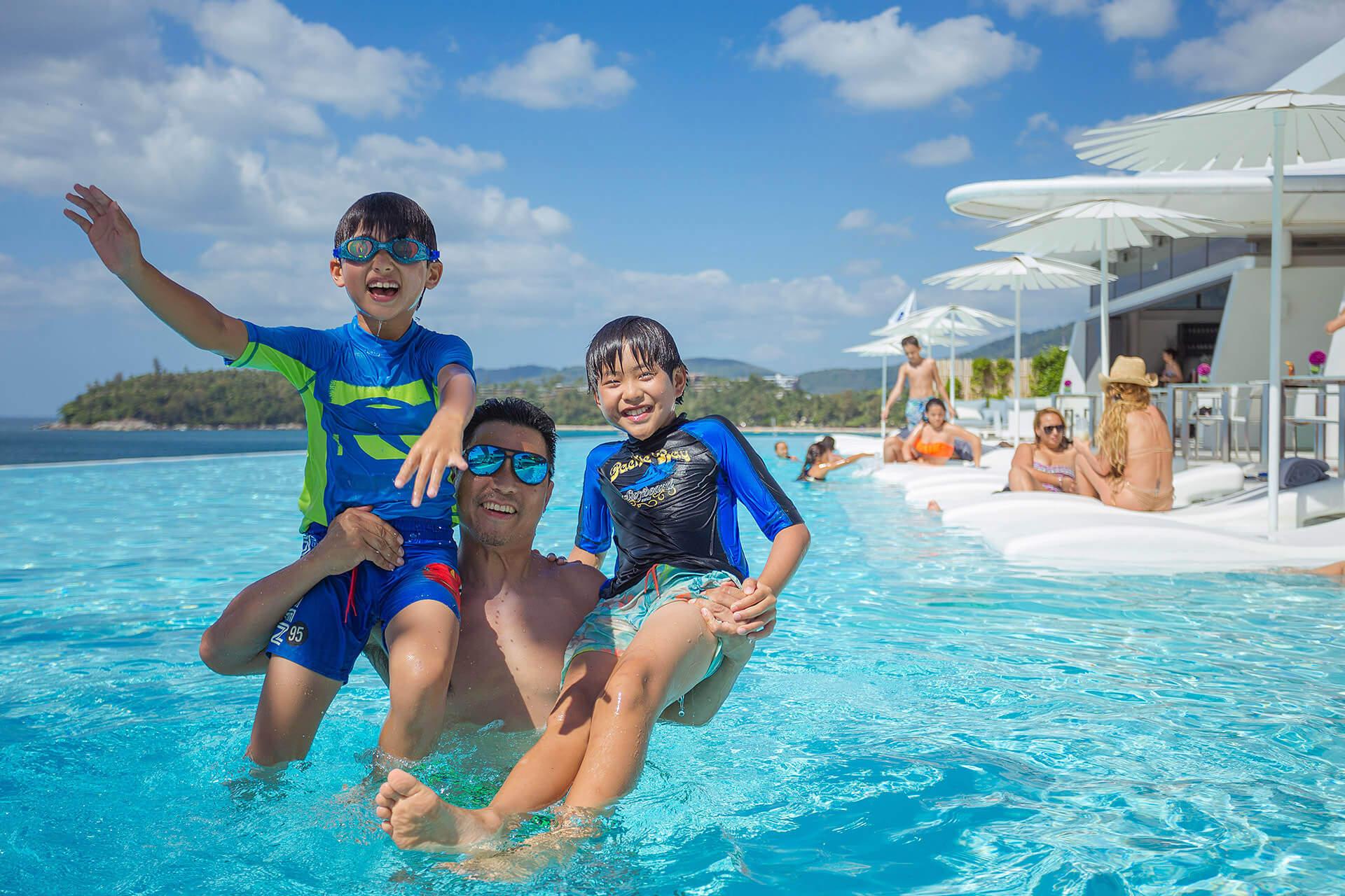 Holiday Deals Phuket | Family Vacation | Kata Rocks Resort