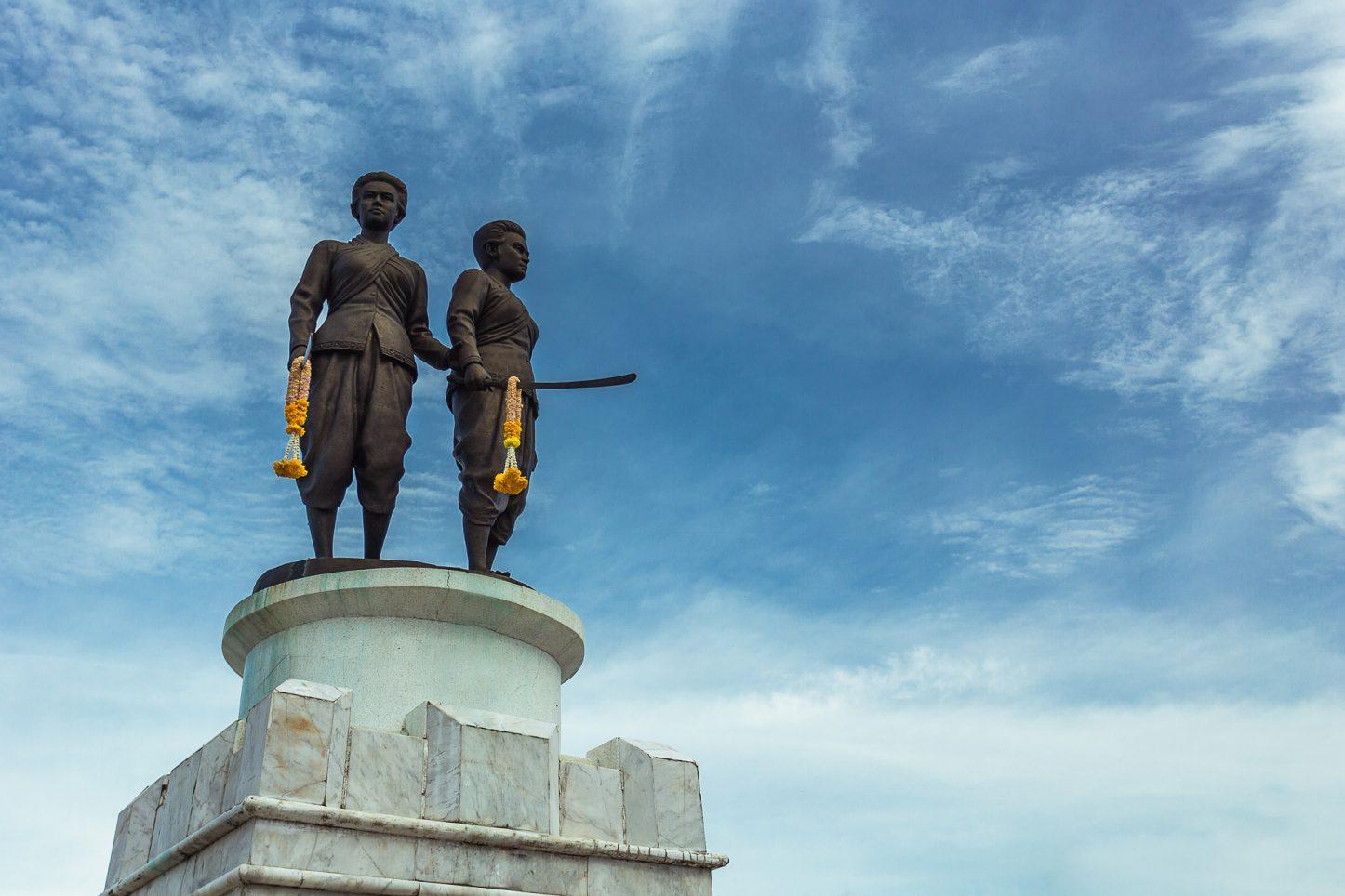 Phuket Heroines Monument | Kata Rocks Resort Phuket Thailand