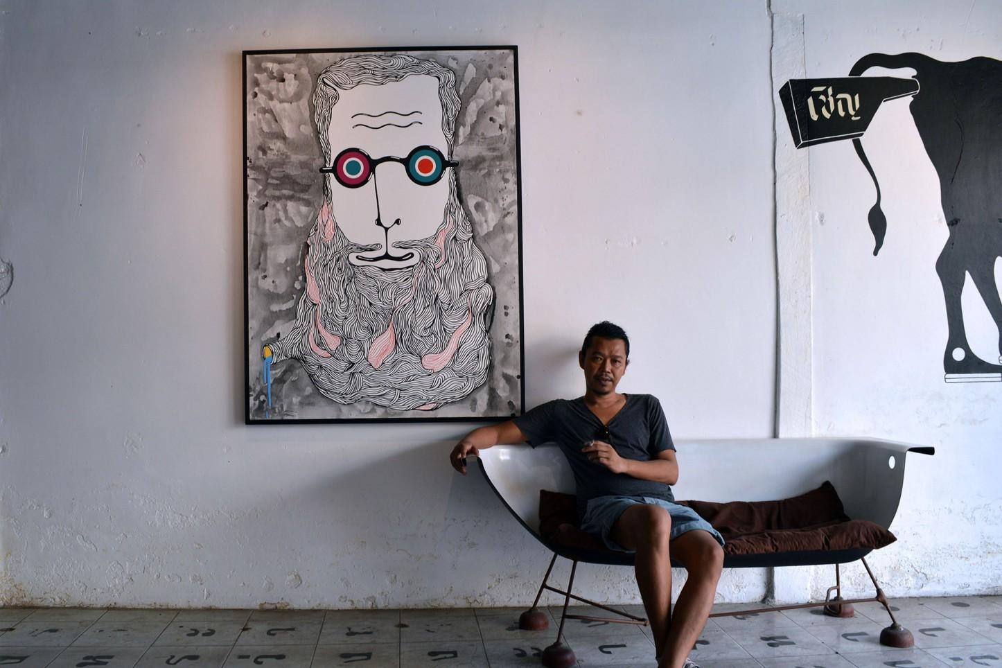 Wua Art Gallery, Phuket, Thailand