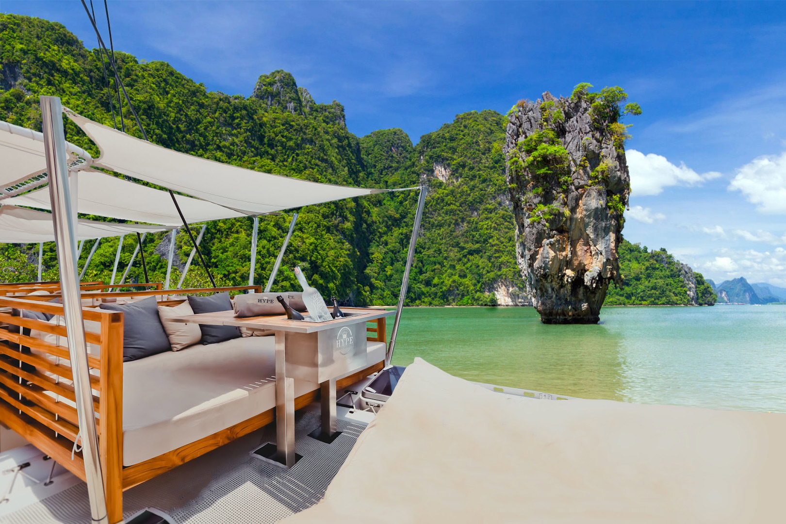 Hype Luxury Boat Club, Phuket, Thailand