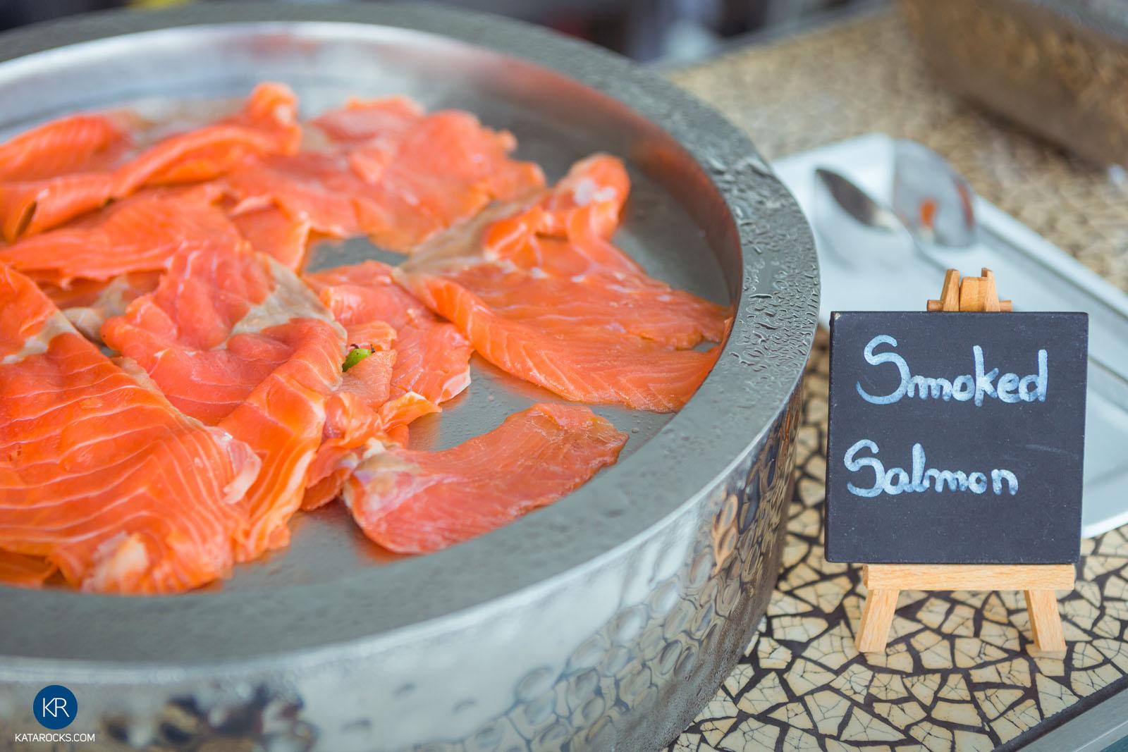 Smoked salmon - Best Breakfast in Phuket