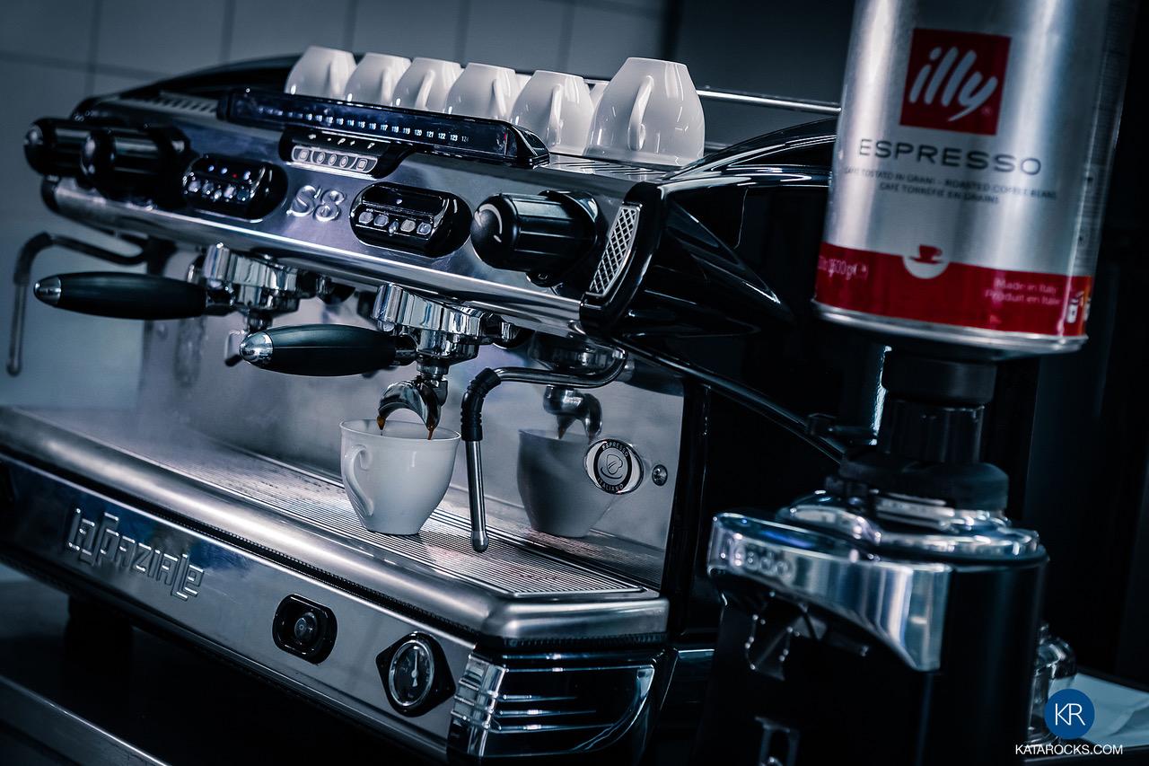 Kata Rocks Breakfast - illy coffee