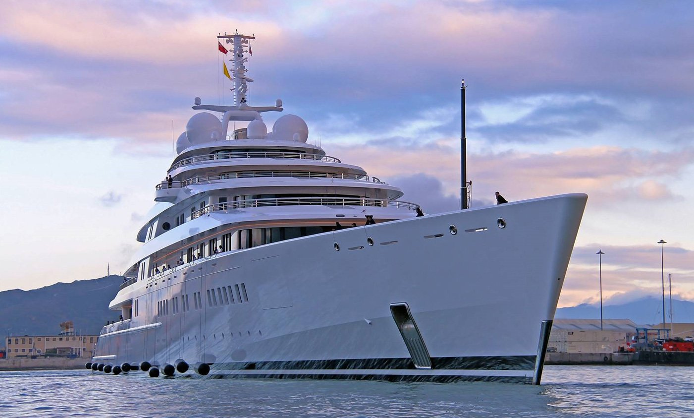 superyacht azzam luxury yacht kata rocks phuket