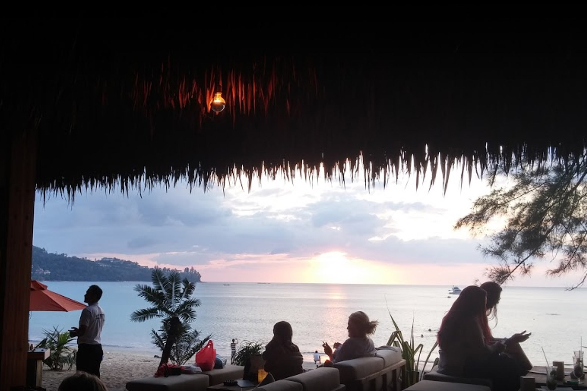 Best beach clubs in Phuket, Café del Mar Phuket
