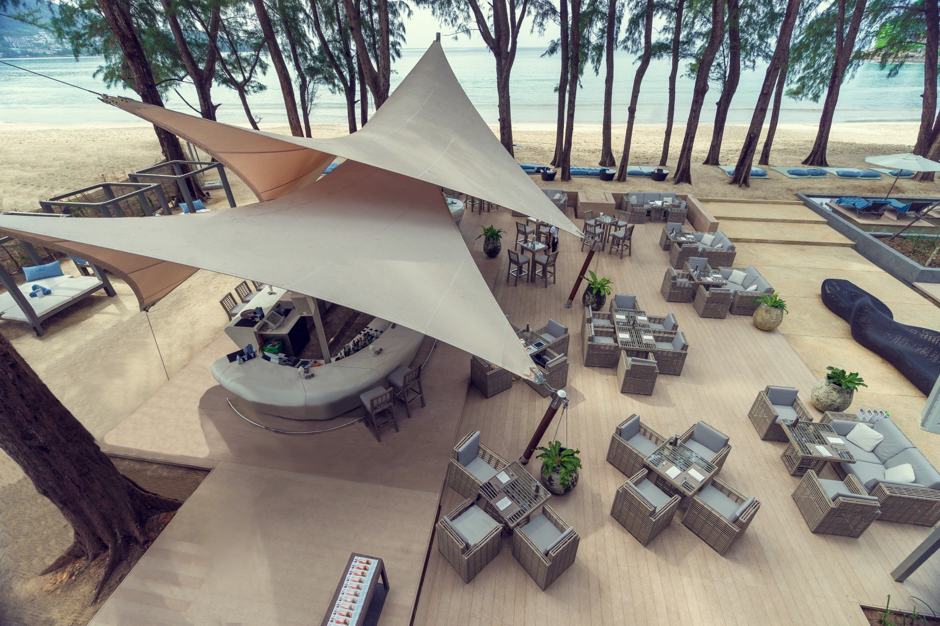 HQ Beach Lounge, Phuket