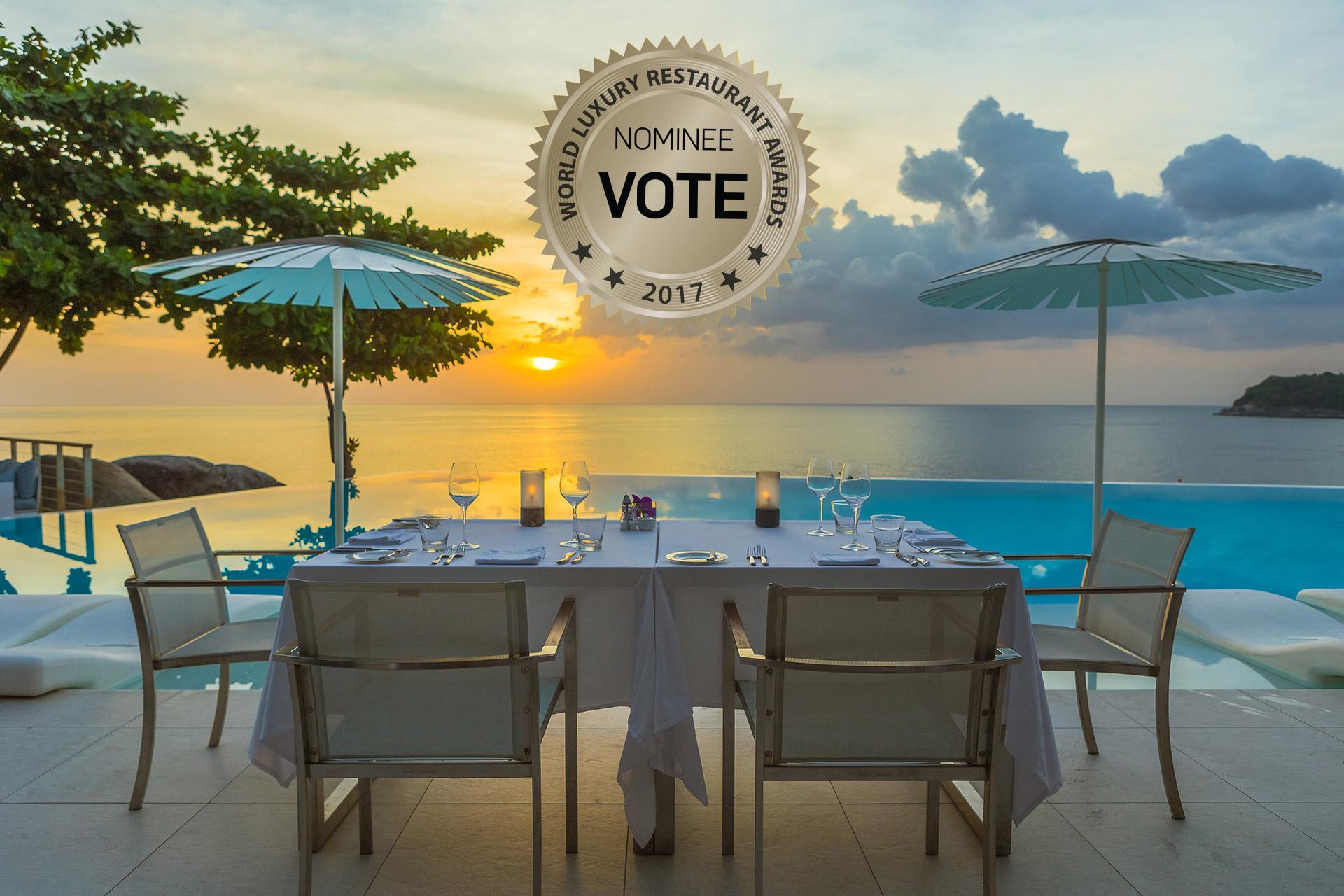 Kata Rocks - World Luxury Restaurant Awards 2017