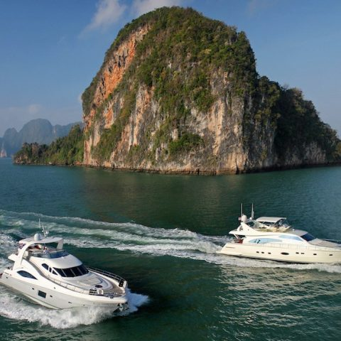 Kata Rocks Phuket Yacht trip in Thailand