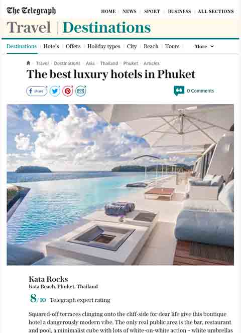 The best luxury hotels in Phuket