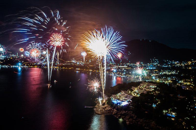 Kata Rocks - Spectacular fireworks celebration