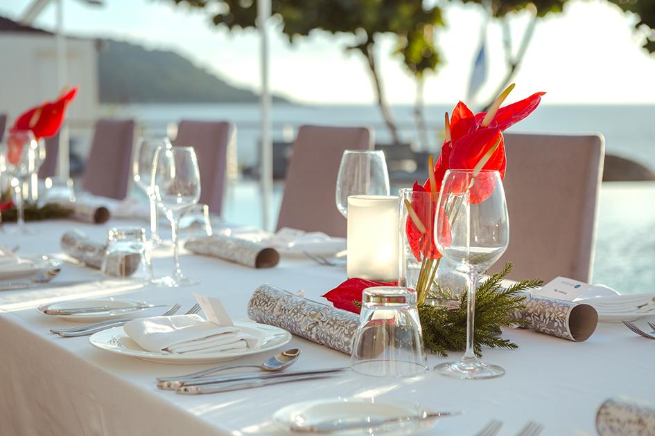 Festive season 2017 - Family style Dinner - Monday 25 December 2017