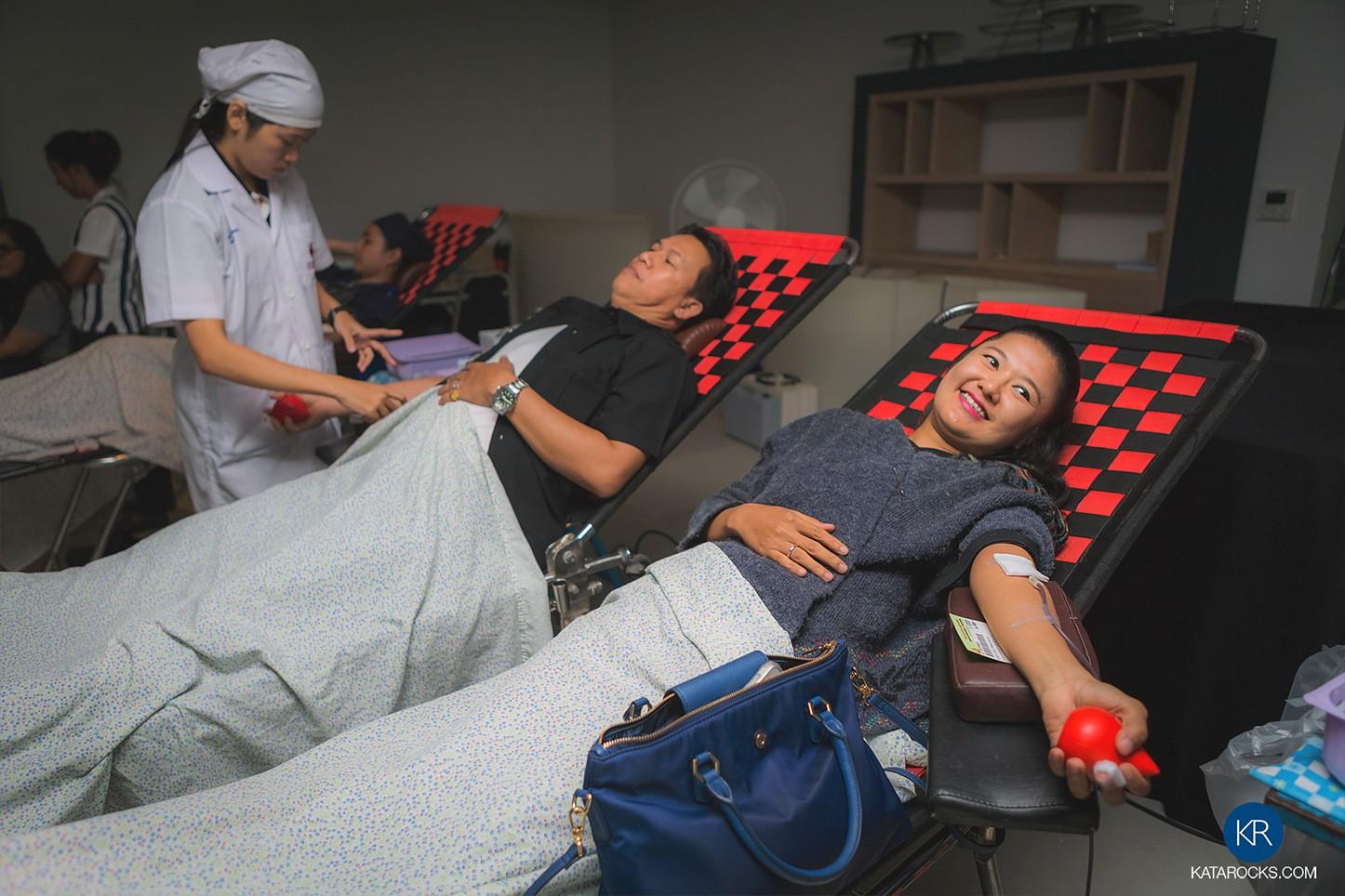 Kata Rocks: CSR - Blood Donation