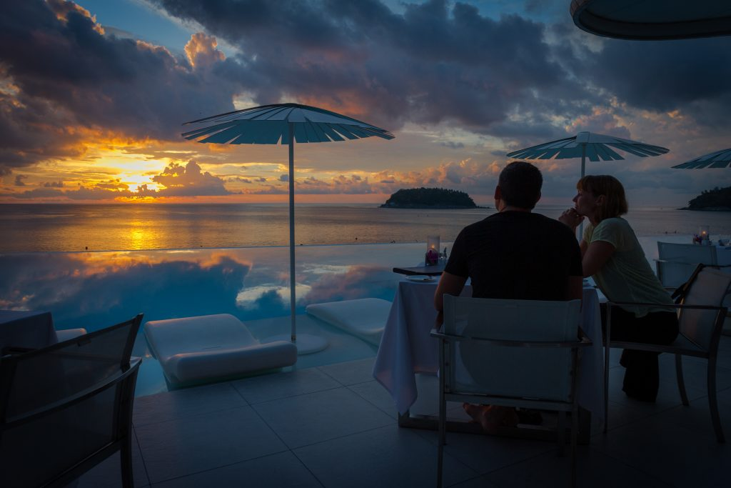Phuket's most romantic valentines setting at Kata Rocks