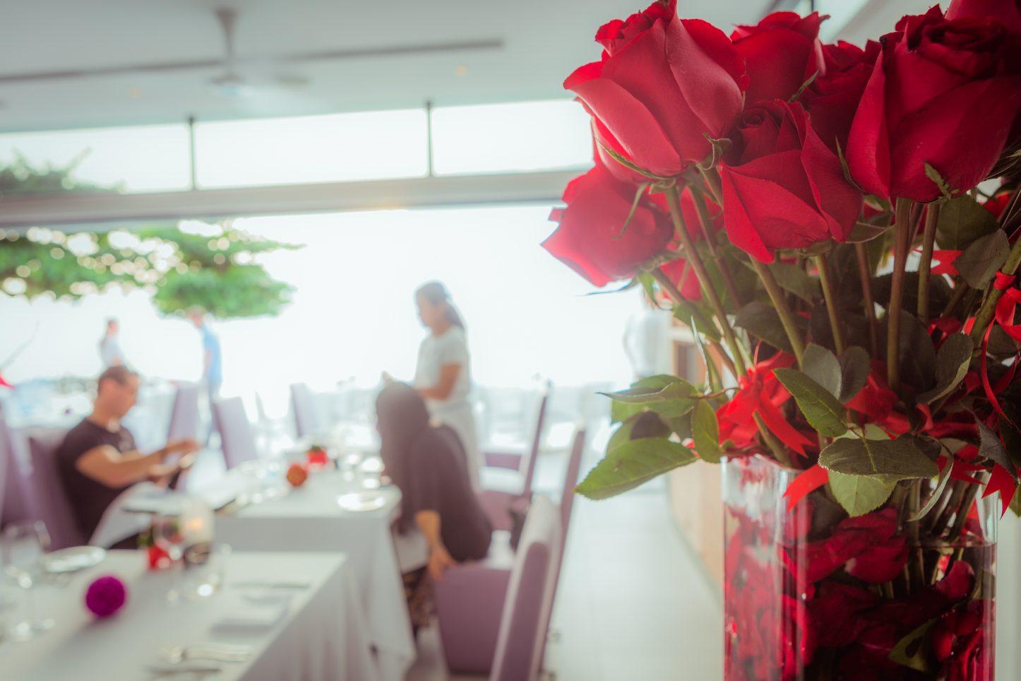 Phuket's most romantic valentines setting at Kata Rocks