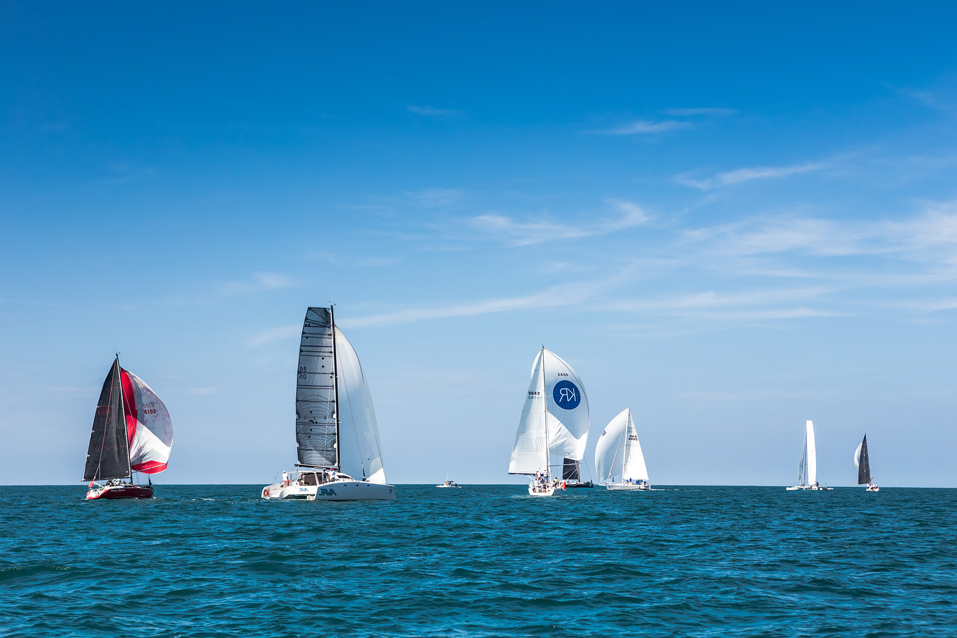 Kata Rocks Sponsored Yachts Win Asia's Most Prestigious Sailing Competitions