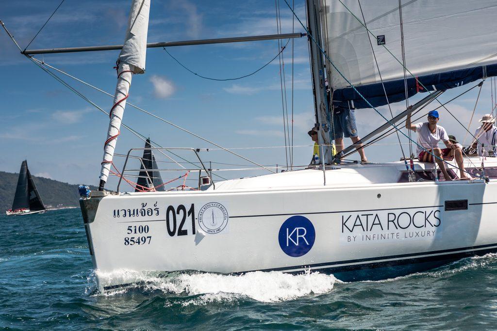 Kata Rocks Takes Top Honours at Phuket King's Cup Regatta 2017