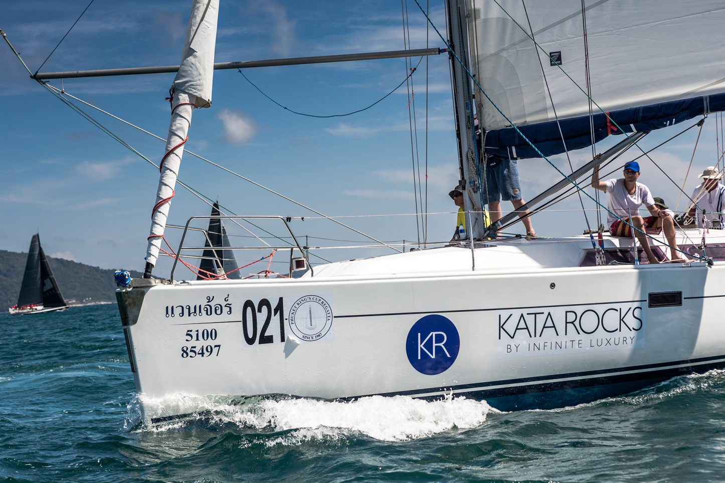 Kata Rocks Takes Top Honours at Phuket King's Cup Regatta 2017