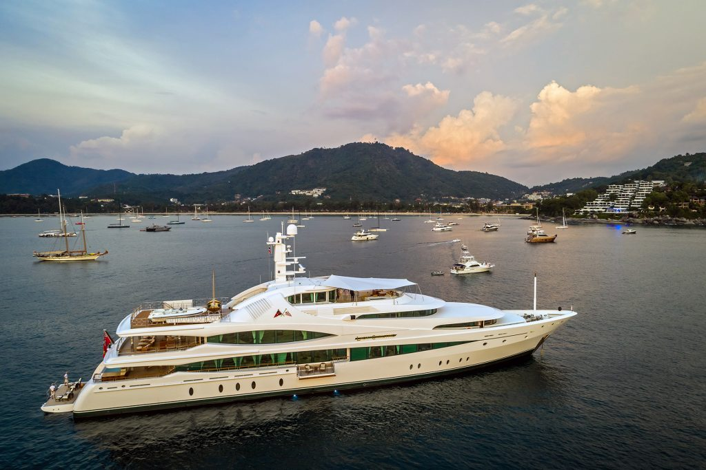 Kata Rocks cements their superyacht rendezvous as a world-class yachting event -  Kata Rocks Superyacht Rendezvous 2017
