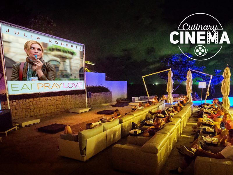 Catch Eat, Pray, Love at Kata Rocks' Culinary Cinema 23 February