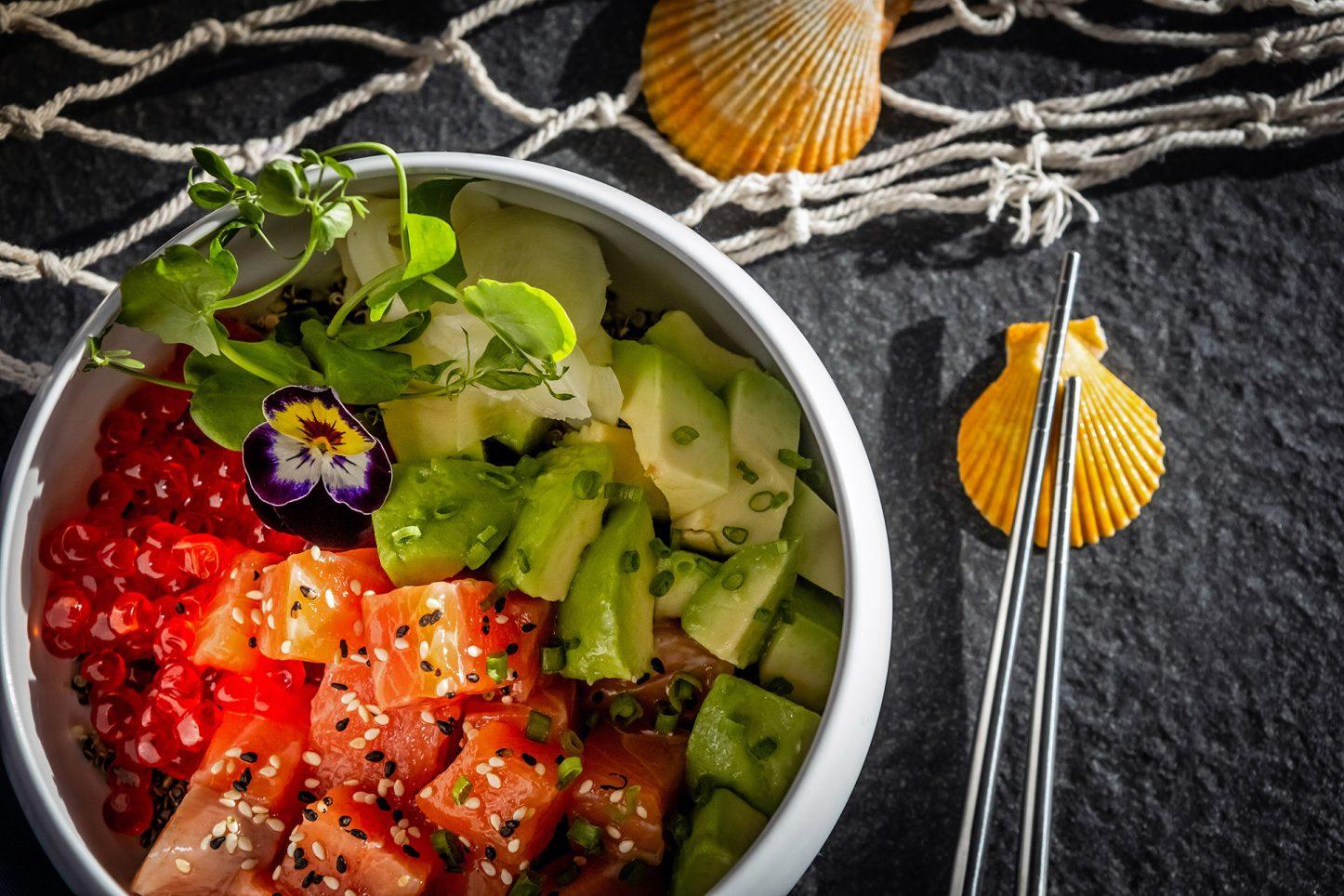 Kata Rocks Clubhouse - Quinoa salmon bowl