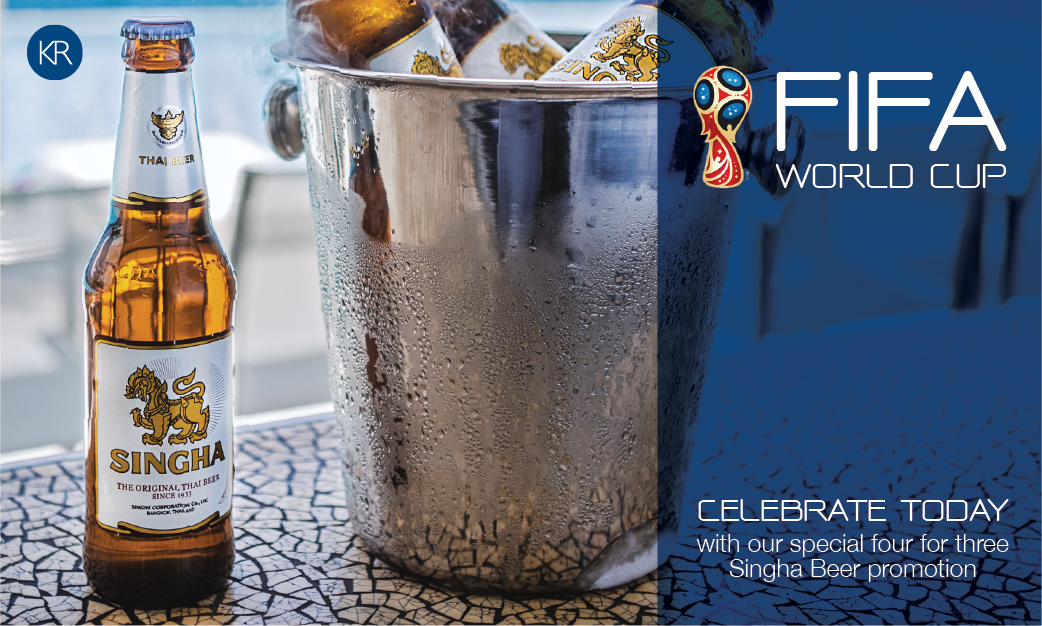 OHLA Burger Singha Life World Cup 2018 Promotion
