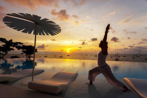 Kata Rocks - Sunset yoga
