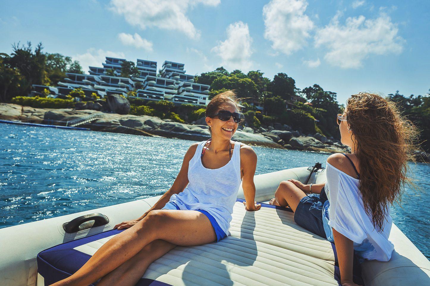 Kata Rocks, Yacht charter