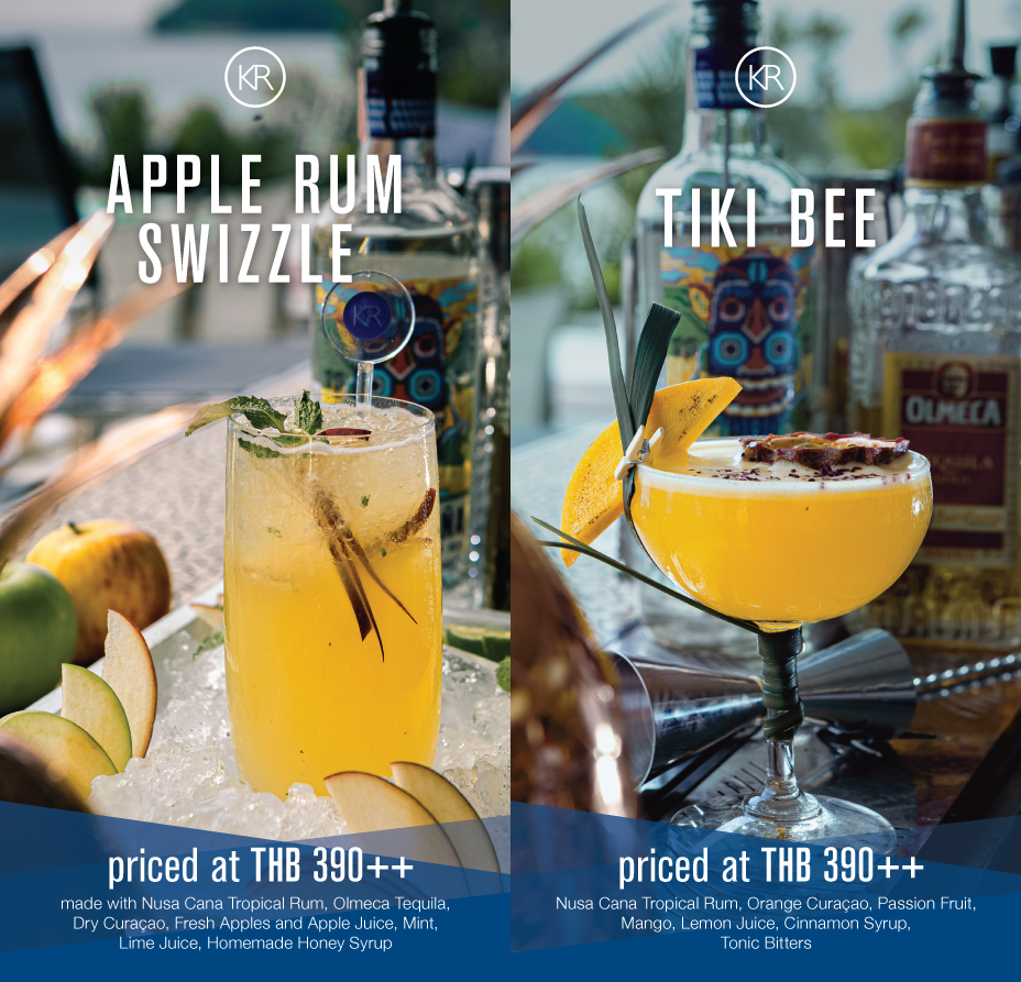 Handcrafted Cocktails - August 2019