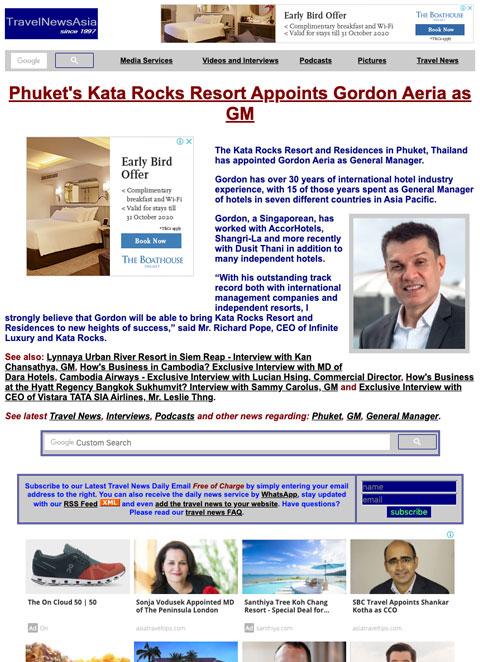 Travel News Asia