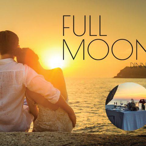Kata Rocks' Full moon dinner