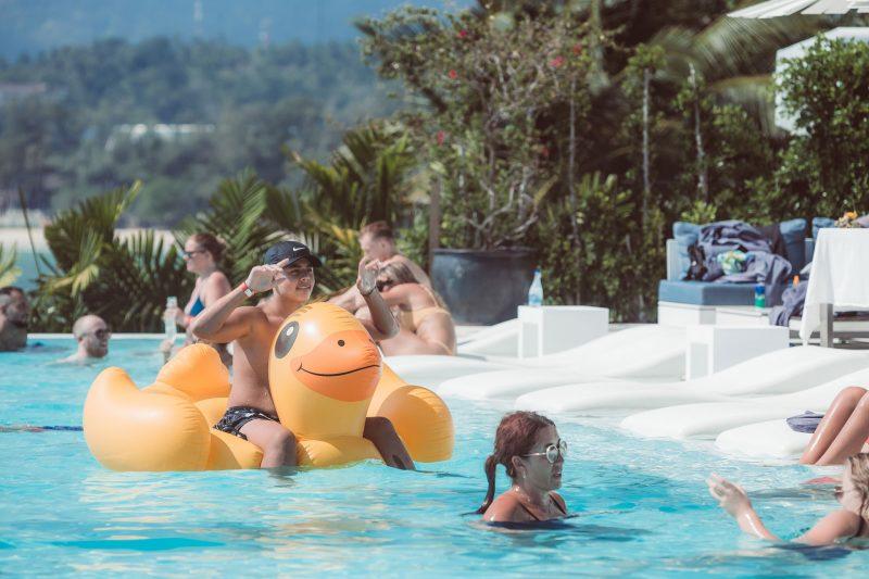 Kata Rocks' Brunch & Pool Party