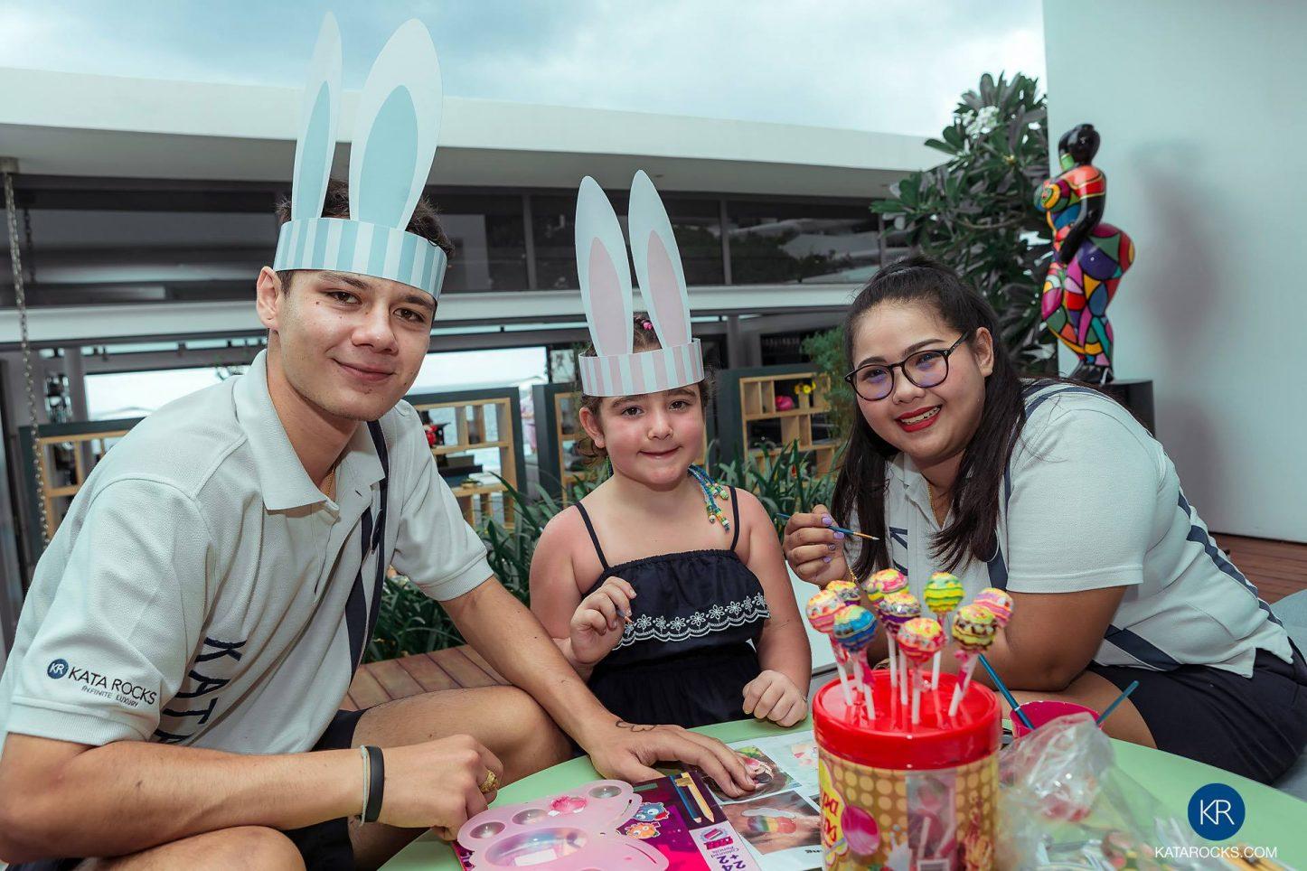 Kata Rocks' Signature Easter Brunch