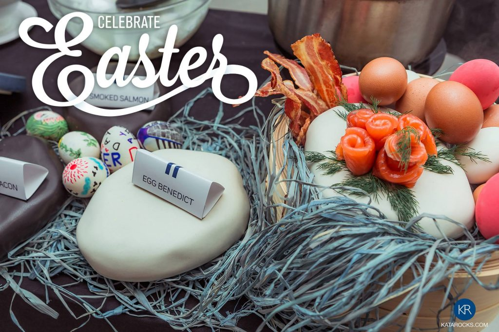 Kata Rocks' Signature Easter Brunch