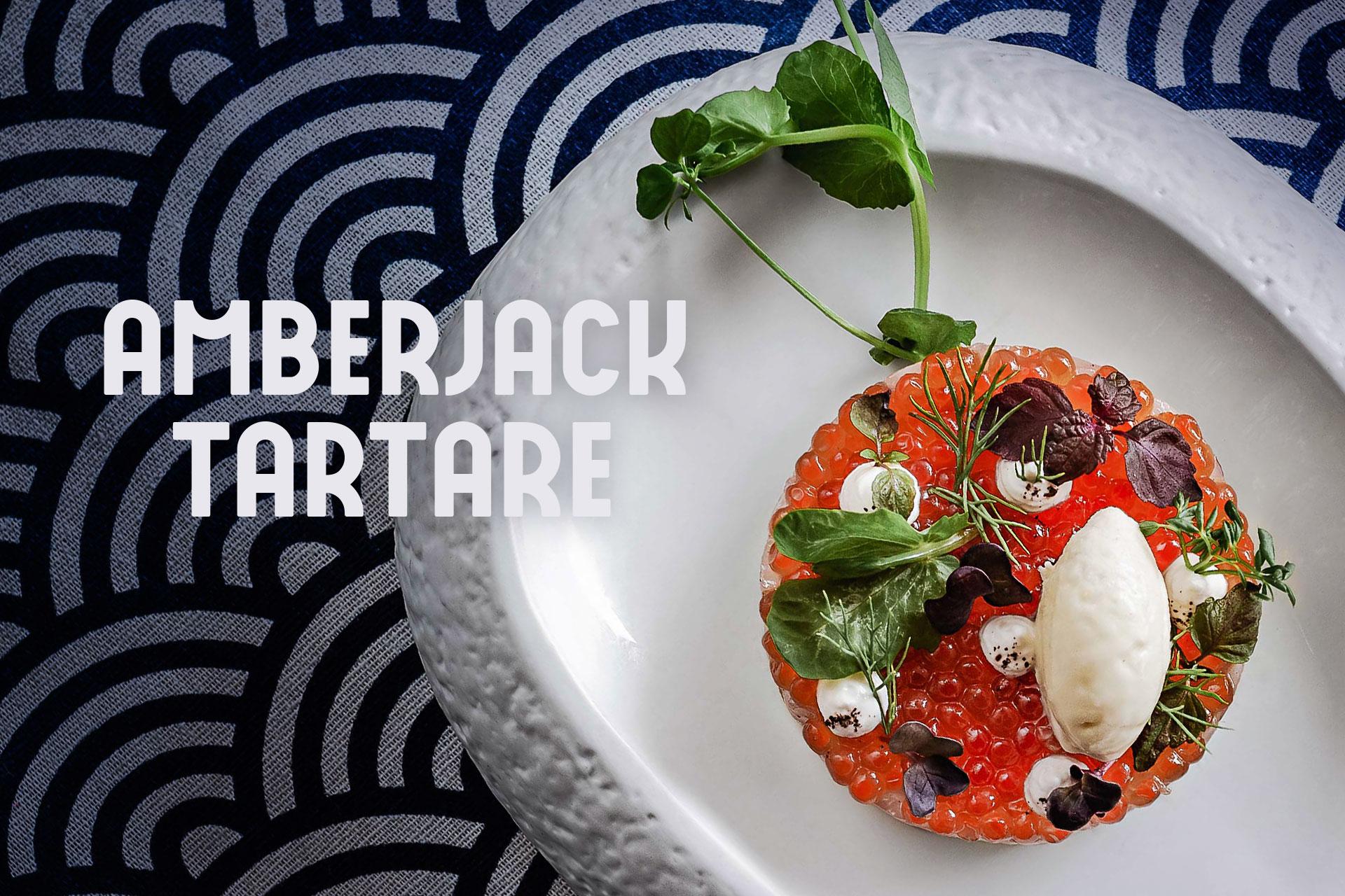 Taste Showcase: Amberjack Tartare