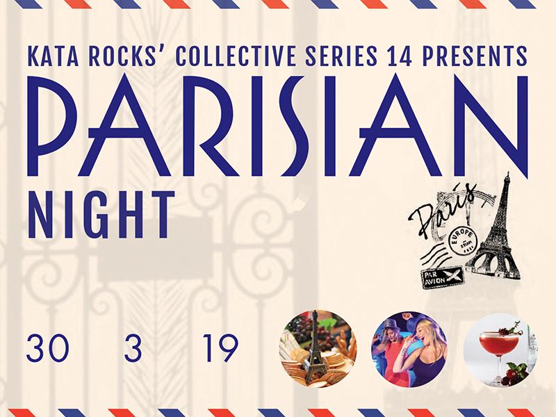 Kata Rocks' Collective Series XIV - Parisian night