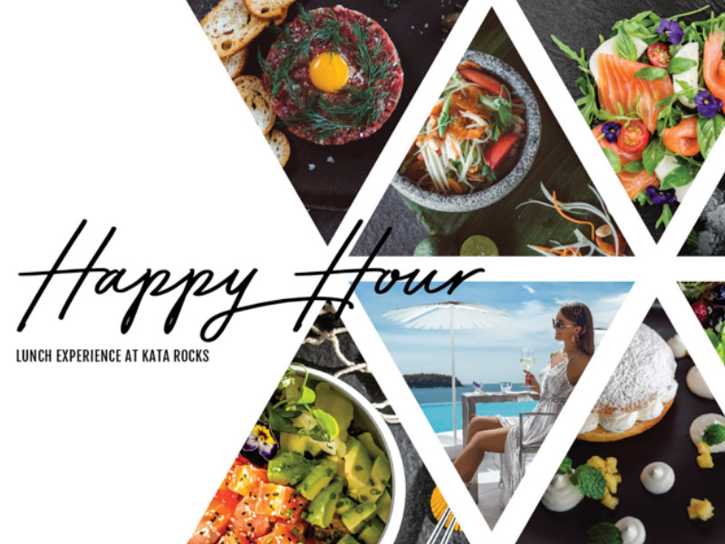 Kata Rocks Happy Hour Lunch Experience